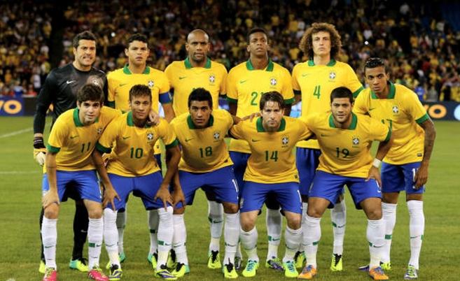 2014年世界杯巴西队简介 -2014巴西竞猜图片